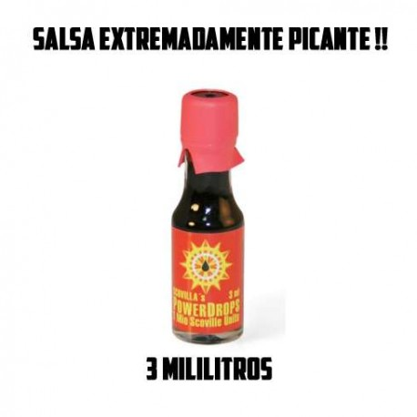 Powerdrops 1 millon scoville