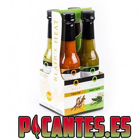 Blairs Q Heat Exotic Mini 4 Pack, 60blairsml
